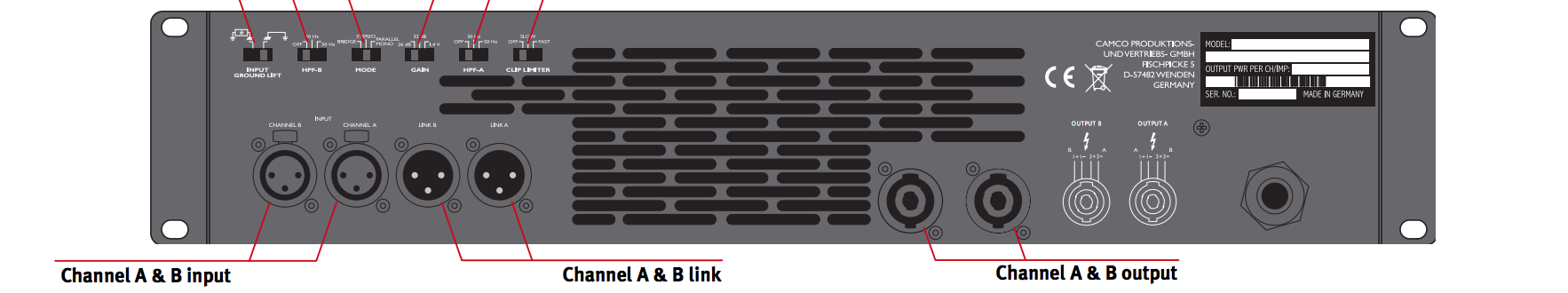 Stereo Stiprintuvas D Power 3 Digital Audio